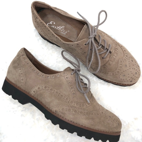 ce4cfaa2fe5 Earthies Shoes - Earthies Women s Wingtip Oxford Comfort Shoe SZ7.5